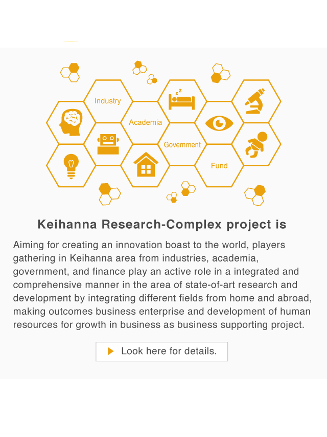 Keihanna Research-Complex project is